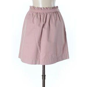 J.crew mauve pink sheath cotton casual skirt